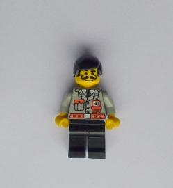 Brandweer met krulsnor (fire006)