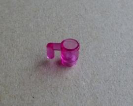 Kopje transparant roze (3899)