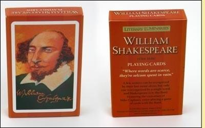 Speelkaarten Literary Luminaries