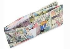 Portemonnee voor liefhebbers van stripboeken