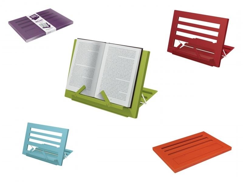 Brilliant boekenstandaard (alleen nog aubergine)