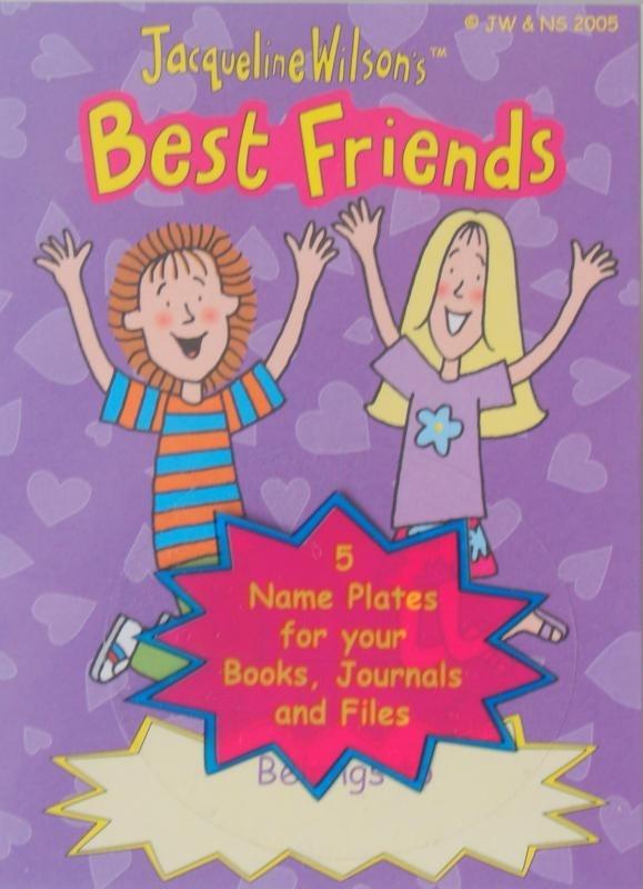 Best Friends ex libris plaatjes