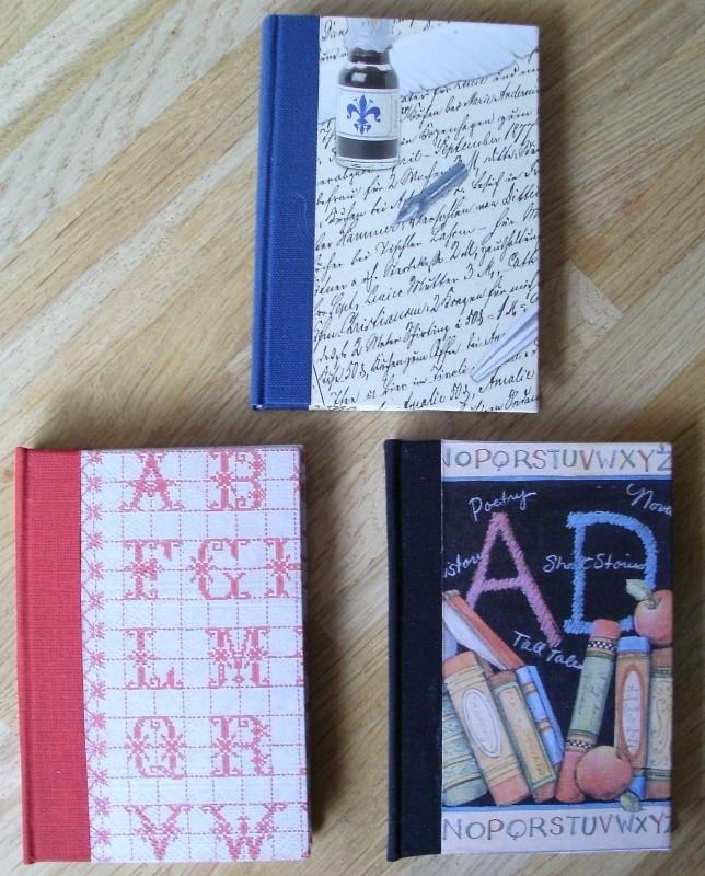 Handgemaakt notitieboekje