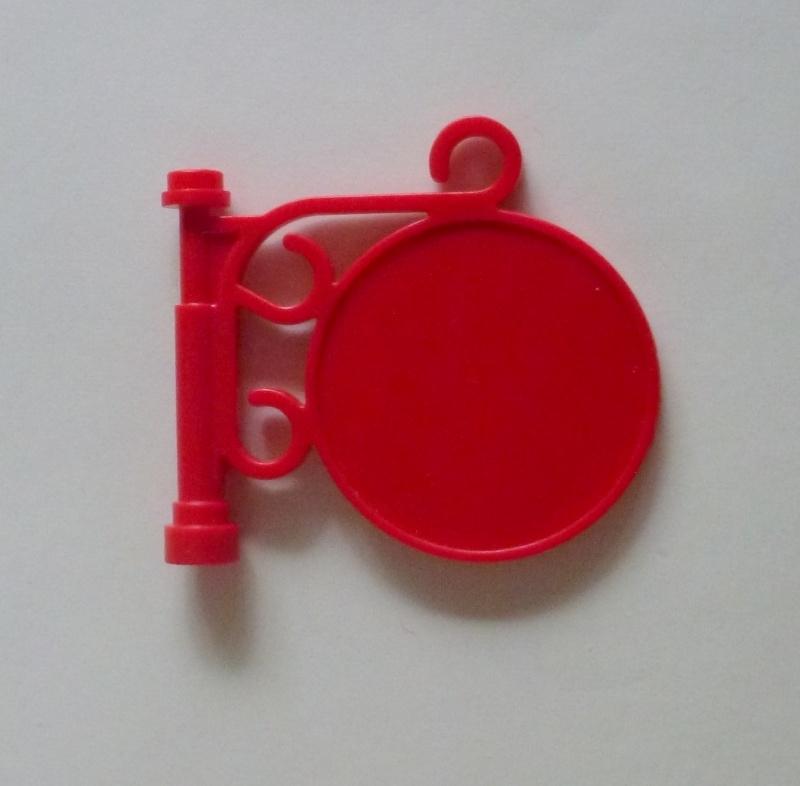 Uithangbord rood (x222)