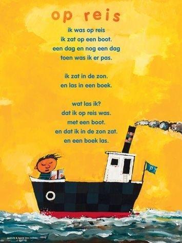 Plint poster Op reis - Wim Hofman