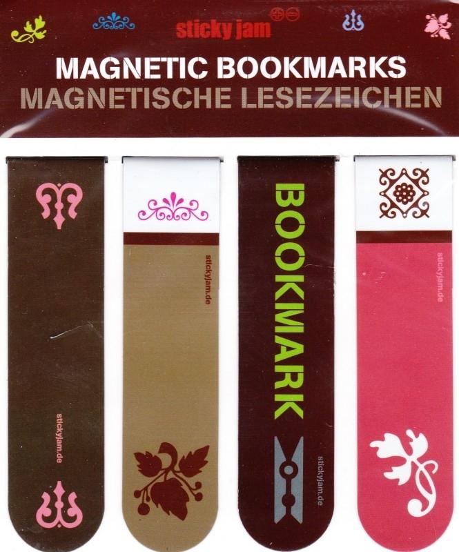 """Magnetische boekenleggers """"Ornaments"""""""
