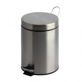 Pedaalemmer 3 Liter rvs geborsteld