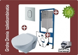 Grohe Villeroy&Boch omnia toiletkombinatie