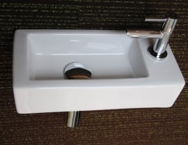 Brick designfonteinset  Nieuw !!! Compactste 18cm diep !!  Nu verkrijgbaar