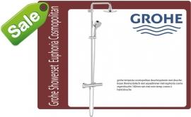 Grohe showerset Euphoria Cosmo hoofddouche 160mm Rain New Temp.II chroom 27922000