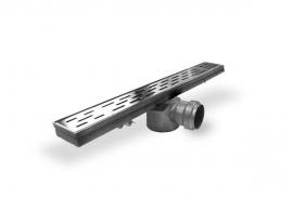 Nisdeur zonder profiel  70/80/90/100cm Hansgrohe Croma100 Ecostat1001