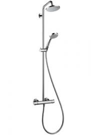 Inloopdouche 95cm Hansgrohe Croma showerpipe