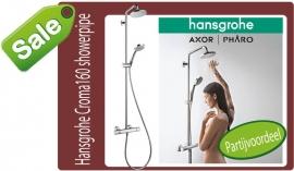 Hansgrohe Croma160 Ecostat Comfort showerpipe 27135000
