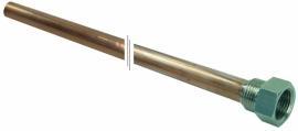 """Pini  stromingsbuis 1/2"""" lengrte 1720mm voor bovenaansluiting"""