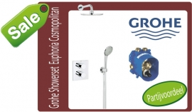 Grohtherm 3000 Cosmopolitan perfect Shower Set 34408000