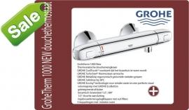 Grohe grohetherm New douchethermostaatkraan 15cm incl.s-koppelingen 34143003