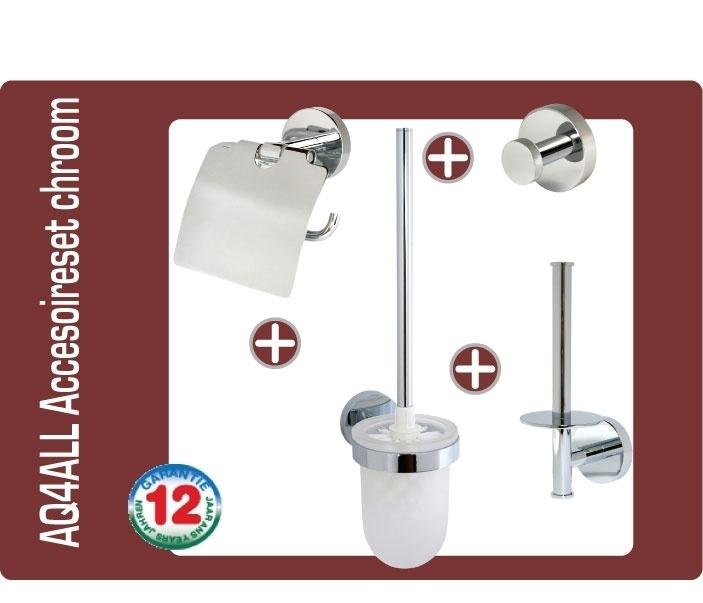 AQ4ALL Accesoireset voor toilet