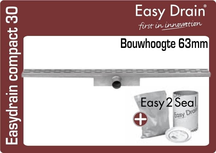 Easydrain compact 30 douchegoot EDCOM...30