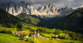 Italië : Santa Maddalena Lagrein Loacker