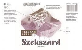 Hongarije : Heimann Fiai Kékfrankos