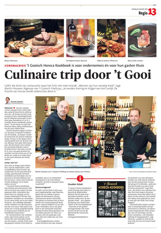 Culinaire Trip door 't Gooi