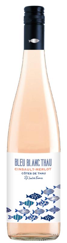 Frankrijk: Vignerons Florensac Bleu Blanc de Thau Rosé