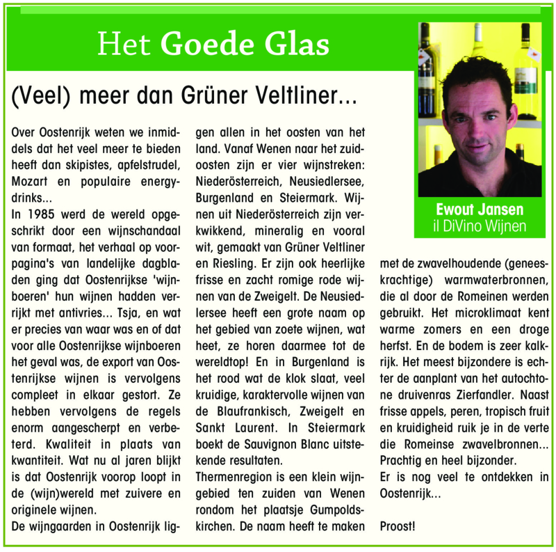 Meer dan Grüner Veltliner - Gooi en Eembode