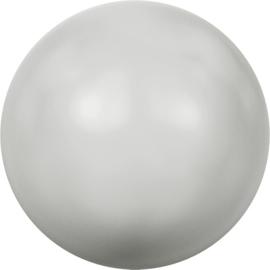 Swarovski #5810 Round Pearl 4mm Pastel Grey, per 20 stuks