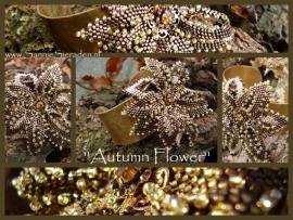 Autumn Flower gemaakt door Sandra Dokter