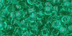 TR06-0072 TOHO Round 6/0 Transparent Beach Glass Green, per 10 gram