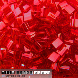 TL-0140 Tila Beads Light Red, per 5 gram
