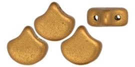 PBGIN-K0174 Matubo Ginko/Gingko Leaf Matte Metallic Antique Gold, per 5 gram