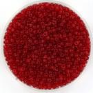 11-0141 Miyuki Rocailles 11/0 Transparant Ruby, per 10 gram