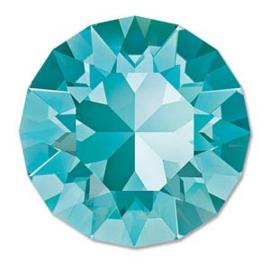 Swarovski #1088 39ss Light Turquoise foiled, per 2 stuks