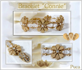 Armband 'Connie', ontwerp Puca, met o.a. Amos®