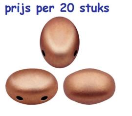 Samos® par Puca® Copper Gold Mat Violet, per 20 stuks