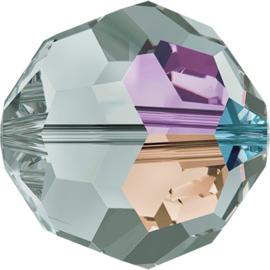 Swarovski #5000 Classic Bead Black Diamond AB 3mm, per 10 stuks