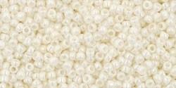 TR15-0122 Opaque-Lustered Navajo White, per 5 gram