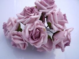 Roos foam vintage Rose 30 mm per 5 stuks