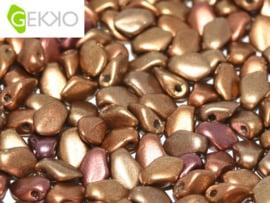 Gekko 3x5mm Metallic Mix, per 5 gram