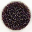 11-3738 Miyuki Rocailles 11/0 Fancy Lined Brandy, per 10 gram