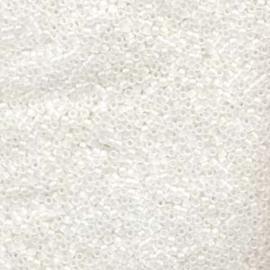 DBM0851 Miyuki Delica's 10/0 Matte Crystal AB, per 5 gram