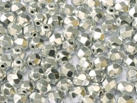 00030/27000Fire polished 4mm Crystal Labrador Full, 100, of 50 stuks, vanaf