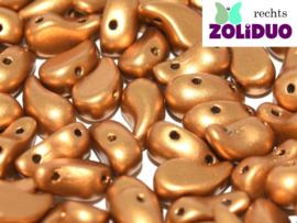 ZDL-01740 Zoliduo® Rechts: Brass Gold, per 25 stuks