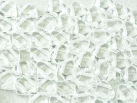 Silky Beads Crystal, per 20 stuks