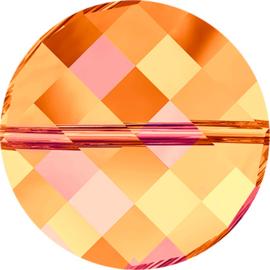 Swarovski #5621 Twist Bead 22mm Crystal Astral Pink, per stuk