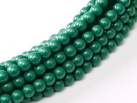 SP3-48585 Shiny Pearl 3mm Green Jade, per 100 stuks