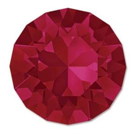 Swarovski #1088 39ss Ruby foiled, per 2 stuks