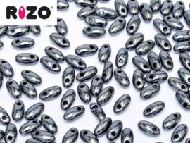 Rizo Jet Hematite, per 10 gram
