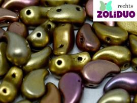 ZDL-01610 Zoliduo® Rechts: Metallic Mix, per 25 stuks
